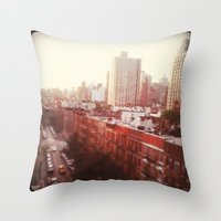 The Upper East Side (An … Throw Pillow