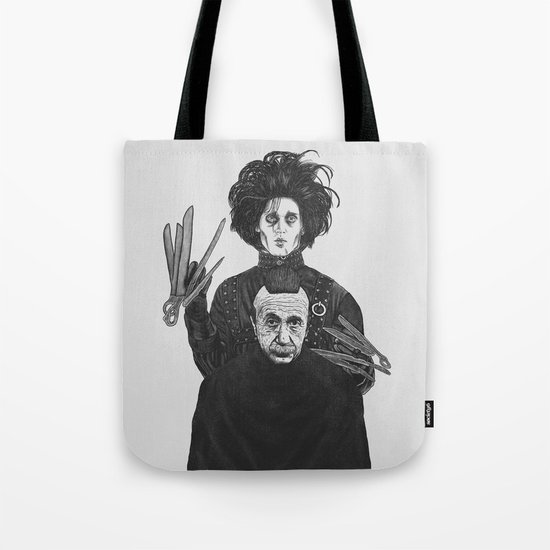 Bored With My Old Hairstyle Tote Bag
