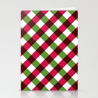 Holiday Pattern Stationery Cards