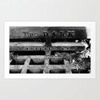 Tho Dark Art Print