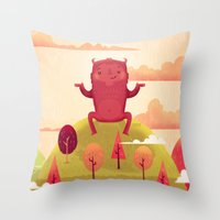 Welcome Autumn! Throw Pillow
