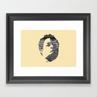 Dynamik Face Framed Art Print