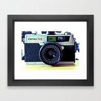 Click Framed Art Print