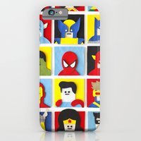 iPhone & iPod Case featuring Felt Heroes by Jacopo Rosati