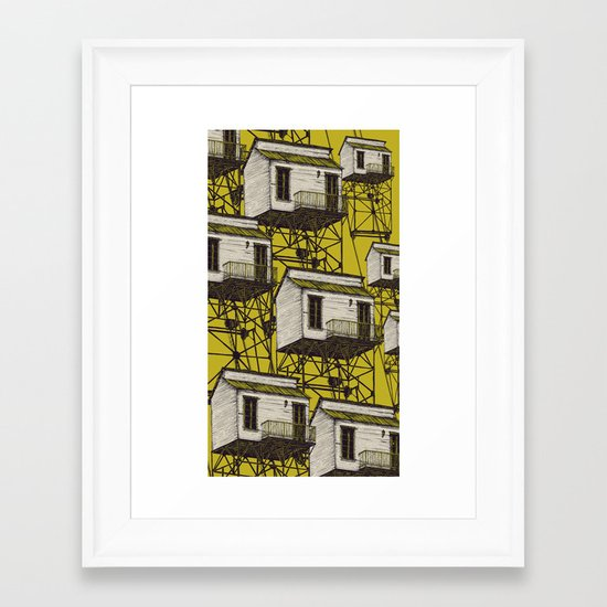 It Takes Me Down. Part Two Framed Art Print