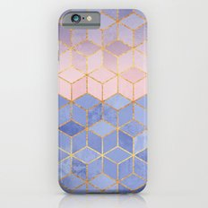 Rose Quartz & Serenity Cubes Slim Case iPhone 6s