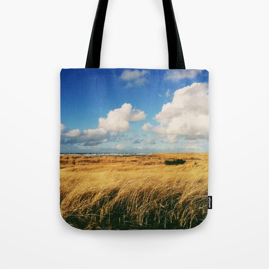 Clouds Over Windy Field (Taken with iPhone) Tote Bag