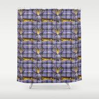 Wild Tartan Shower Curtain