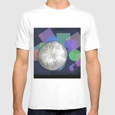 send me the moon Mens Fitted Tee White SMALL