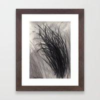 Dryness Framed Art Print