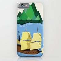 A Galleon on the High Seas iPhone 6 Slim Case