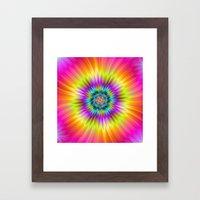 Sun Flower Framed Art Print