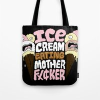 Ice Cream Eater Tote Bag