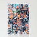 Floral Inversion  Stationery Cards