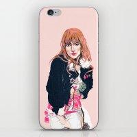 Oliva Wilde iPhone & iPod Skin