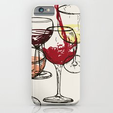 Wine For 4 iPhone 6 Slim Case