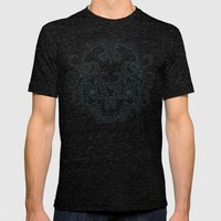 Killer Skull Mens Fitted Tee Tri-Black SMALL
