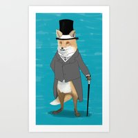 19th Century Fox Art Print