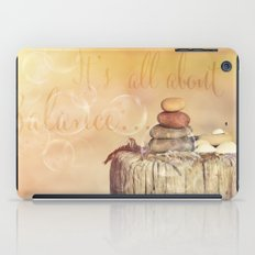 All about Balance iPad Case