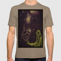Dark Spell of Subversion Mens Fitted Tee Tri-Coffee SMALL
