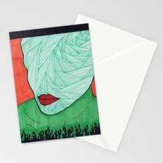 All About the Lips 3 Stationery Cards