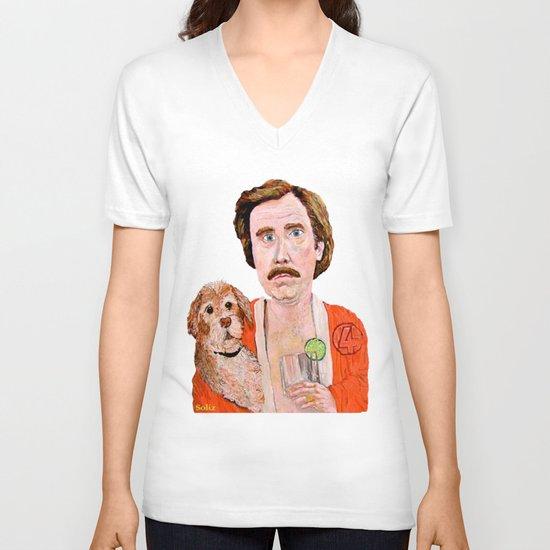 """""""Stay Classy"""" V-neck T-shirt"""