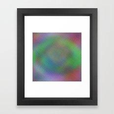 Color Crystals Framed Art Print