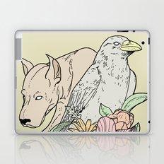 si canem corvus Laptop & iPad Skin