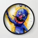 I Am Grover Wall Clock