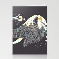 The Grey Gust And The Sa… Stationery Cards
