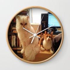 LES CATASTROPHES Wall Clock