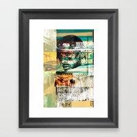 WASTE OF EFFORT Framed Art Print