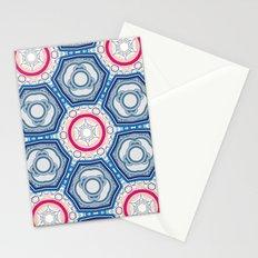 microdefender of salt Stationery Cards