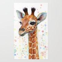 Giraffe Baby Rug