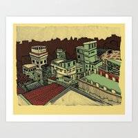 I Dreamed This Place For Us Art Print