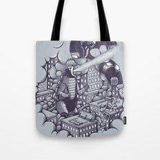 Lucha Kaiju Tote Bag