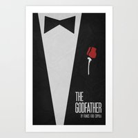 The Godfather - Minimali… Art Print