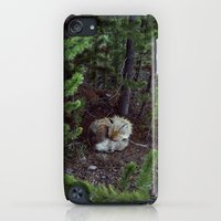 iPod Touch Cases featuring Sleeping Fox by Kevin Russ