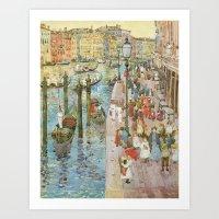 The Grand Canal, Venice Art Print