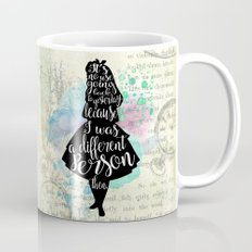 Alice in Wonderland - I Was A Different Person Then Mug