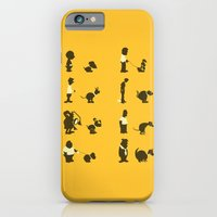iPhone Cases featuring Please Pick Up After Your Pets by Phil Jones