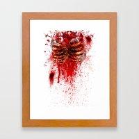 Zombie 2 Framed Art Print