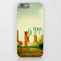 iPhone & iPod Case featuring I Think I Love You by ARJr