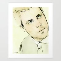Arrow Portrait Series: O… Art Print
