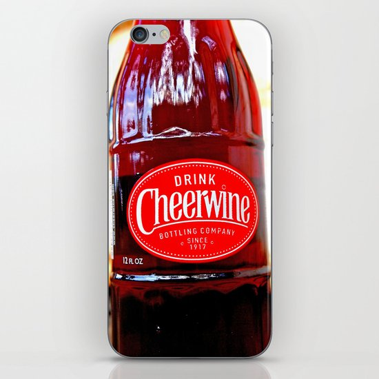 Classic Cheerwine iPhone & iPod Skin