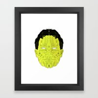 Man 01. Framed Art Print
