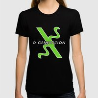 D-Generation X Womens Fitted Tee Black SMALL