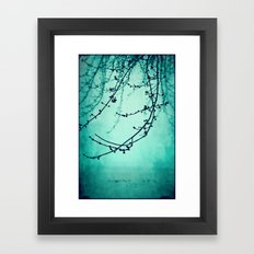 Fog of Green Framed Art Print