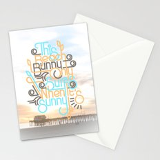 BEACH BUNNY Stationery Cards