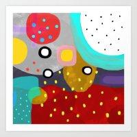 Almost Minimalist art Art Print
